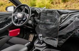 Hyundai i30 Fastback N prototype, 2018, camouflaged interior