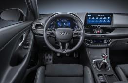 Hyundai i30 N Line, 2020, interior