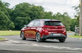 Hyundai i30, 2020, rear, action