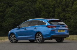 Hyundai i30 Tourer, 2017, rear