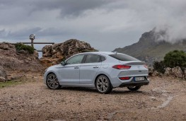 Hyundai i30 Fastback, 2017, rear