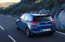 Hyundai i30, 2017, rear, action