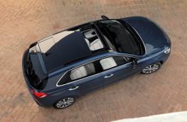 Hyundai i30, 2017, overhead