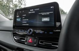 Hyundai i30, 2021, display screen