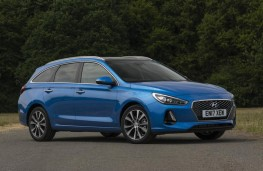 Hyundai i30 Tourer, 2017, side