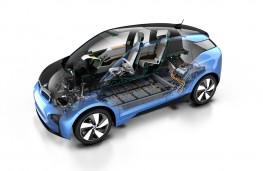 BMW i3, 2016, cutaway