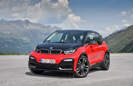 BMW i3s, 2017, front