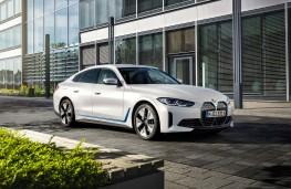 BMW i4, 2021, front