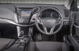 Hyundai i40, 2016, interior