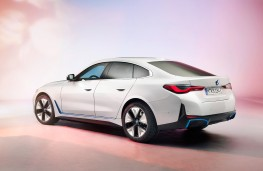 BMW i4, 2021, rear
