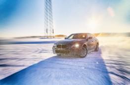 BMW i4, testing, front