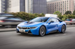 BMW i8, front, action