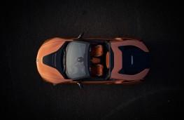 BMW i8 Roadster, 2018, overhead