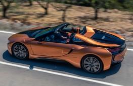BMW i8 Roadster, 2018, side