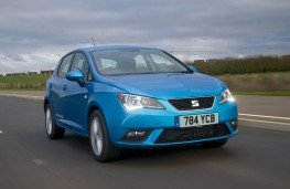 SEAT Ibiza, 2015, front, action
