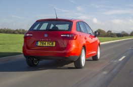 SEAT Ibiza ST FR, rear, action