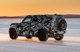 Ice, ice baby - new Land Rover Defender LWB