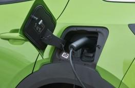 Vauxhall Mokka-e, 2021, charging point