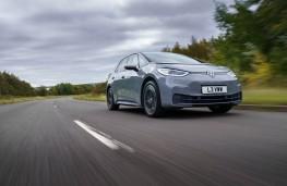 Volkswagen ID.3, 2021, front, action
