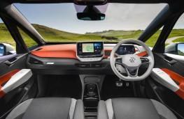 Volkswagen ID.3, 2021, interior