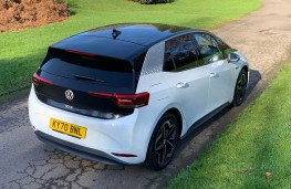 Volkswagen ID.3 First Edition, 2020, rear, static