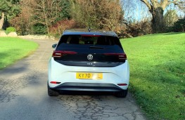 Volkswagen ID.3 First Edition, 2020, tail