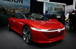 Volkswagen I.D. VIZZION, 2018, Geneva Motor Show