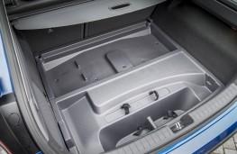Hyundai Ioniq electric, boot, underfloor