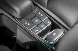 Hyundai Ioniq electric, console