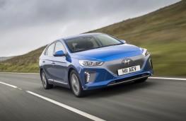 Hyundai Ioniq electric, front