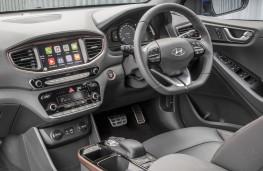 Hyundai Ioniq electric, interior