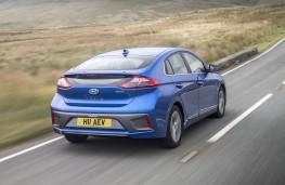 Hyundai Ioniq electric, rear