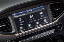 Hyundai Ioniq electric, display screen