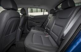 Hyundai Ioniq electric, rear seats
