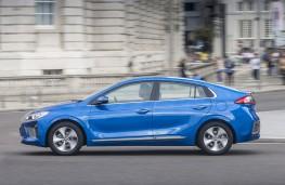 Hyundai Ioniq electric, side