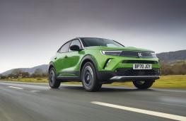Vauxhall Mokka-e, 2021, front
