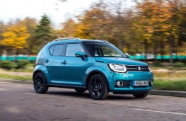 Suzuki Ignis, 2016, side, action