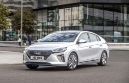 Hyundai Ioniq hybrid, front