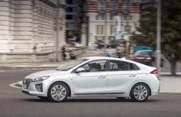 Hyundai Ioniq hybrid, side