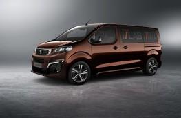 Peugeot Traveller i-Lab concept, front