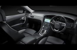 Saab 9-5, interior