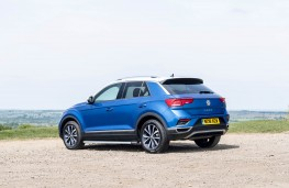 Volkswagen T-Roc, rear