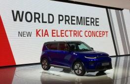 Kia stand at Geneva Motor Show 2019