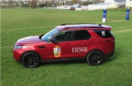 Land Rover Discovery, Lions tour of New Zealand