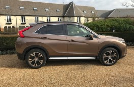 Mitsubishi Eclipse Cross, side