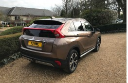 Mitsubishi Eclipse Cross, rear