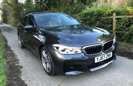 BMW 6-Series, front