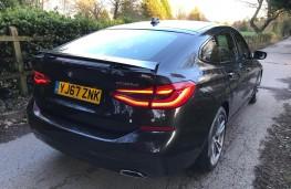 BMW 6-Series, rear