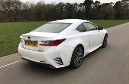 Lexus RC 300h, rear