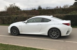 Lexus RC 300h, side